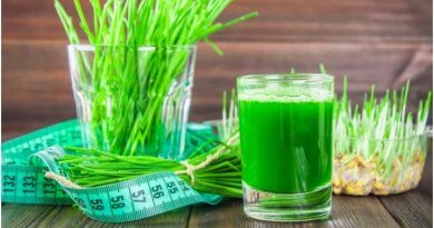 Get glowing skin and lose weight naturally with wheat-grass juice